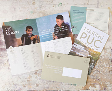 Pacific Union College Marketing Materials